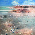 Temistocle Scola - Particolari in spiaggia